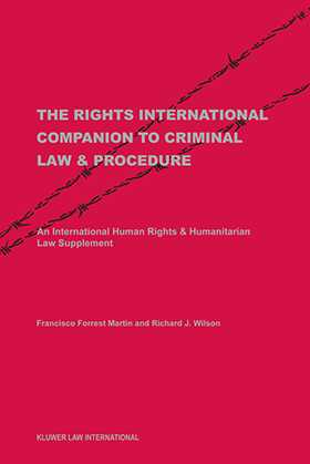 The Rights Inernational Companion to Criminal Law