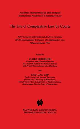 The Use Of Comparative Law By Courts