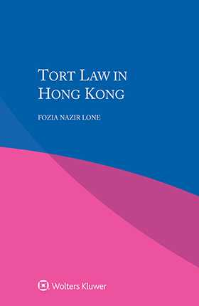 Tort Law in Hong Kong by LONE