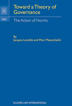 Toward Theory Of Governance: The Action of Norms