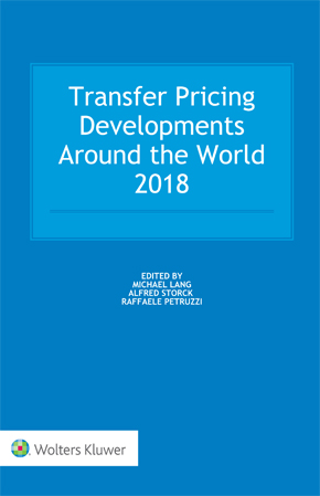 Transfer Pricing Developments Around the World 2018 by LANG