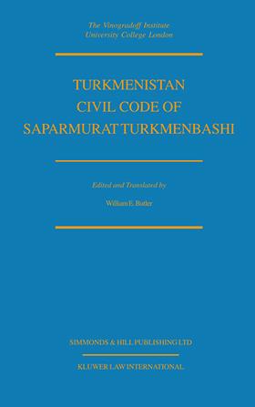 Turkmenistan Civil Code of Saparmurat Turkmenbashi