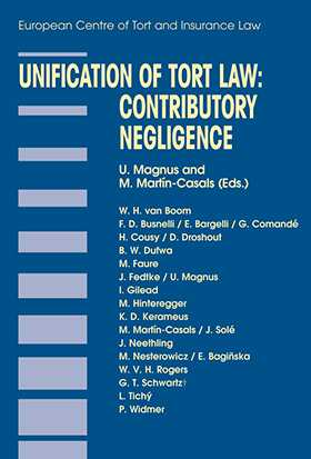 Unification of Tort Law: Contributory Negligence by