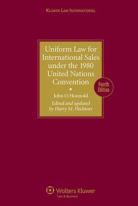 Uniform Law for International Sales under the 1980 United Nations Convention 4th revised edition