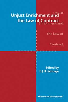 Unjust Enrichment and the Law of Contract