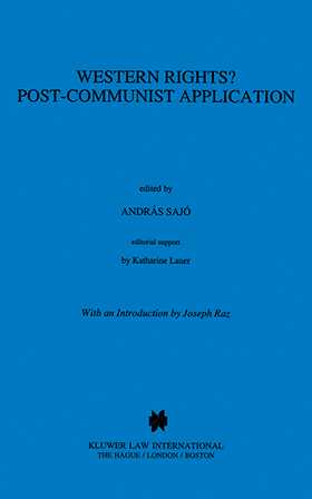 Western Rights? Post-Communist Application by SAJO