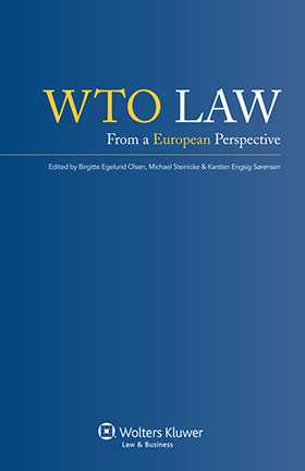 WTO Law. From A European Perspective