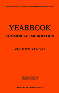 Yearbook of Commercial Arbitration Volume VII- 1982