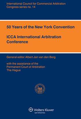 Volume 14 of ICCA Congress Series, The New York Convention at 50, comprises the proceedings of the ICCA Conference held in Dublin in 2008 on the fiftieth anniversary of the 1958 New York Convention on the Recognition and Enforcement of Foreign Arbitral Awards. One of the highlights of the Conference was a Plenary Session in which the worlds leading arbitration experts debated the need to revise the New York Convention. This discussion, along with the text of a preliminary draft of the revised Convention presented during the Conference, is reported in this volume. Further Reports and Commentary explore the two main themes of the Conference: Investment Treaty Arbitration/Treaty Arbitration, with contributions on: The Impact of Investment Tr