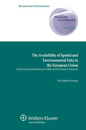 The Availability of Spatial and  Environmental Data in the EU. At the Crossroads between Public and Economic Interests
