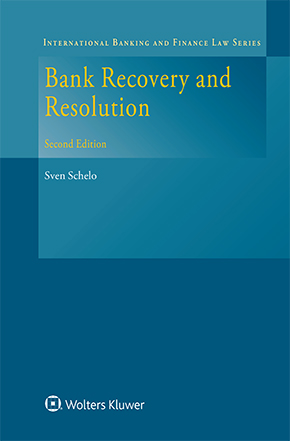 Bank Recovery and Resolution, Second Edition by SCHELO