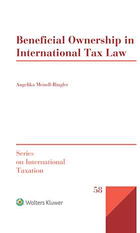 Beneficial Ownership in International Tax Law by MEINDL-RINGLER