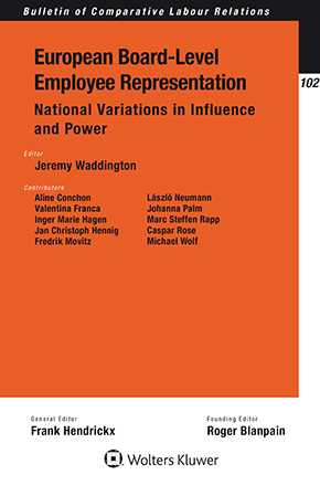 European Board-Level Employee Representation: National Variations in Influence and Power by WADDINGTON