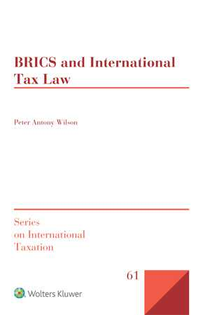 BRICS and International Tax Law by WILSON