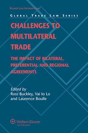 Challenges to Multilateral Trade: The Impact of Bilateral, Preferential and Regional Agreements by
