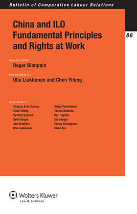 China and ILO Fundamental Principles and Rights At Work by