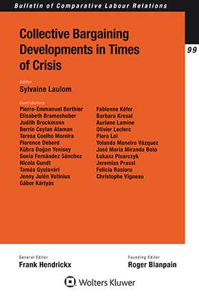 Collective Bargaining Developments in Times of Crisis by LAULOM