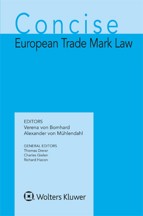 Concise European Trademark Law by GIELEN