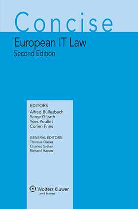 Concise European IT Law - Second revised edition
