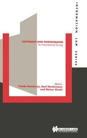 Copyright and Photographs: An International Survey