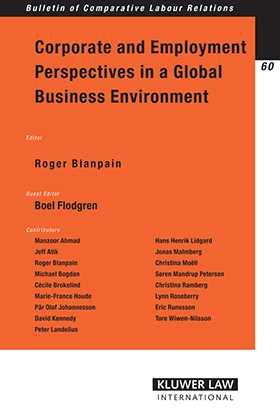 Corporate and Employment Perspectives in a Global Business Environment by Boel Flodgren