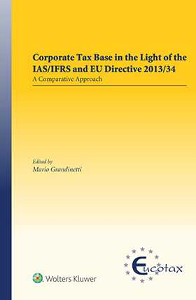 Corporate Tax Base in the Light of IAS/IFRS and EU Directive 2013/34
