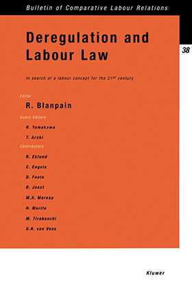 Deregulation and Labour Law: In Search of a Labour Concept for the 21st Century