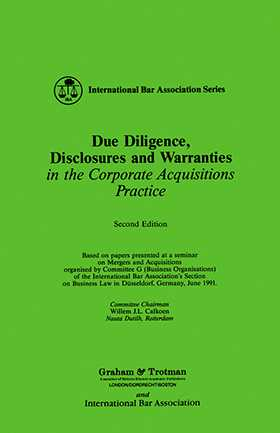 Due Diligence, Disclosures and Warranties