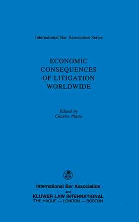 Economic Consequences of Litigation Worldwide