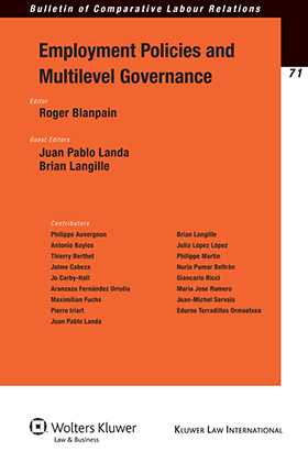 Employment Policies and Multilevel Governance by