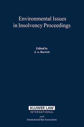 Environmental Issues In Insolvency Proceedings