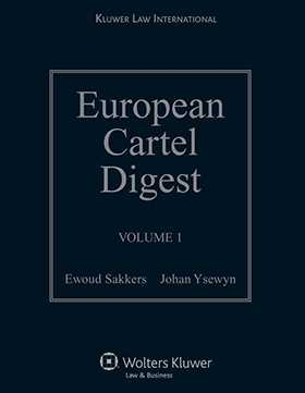 European Cartel Digest