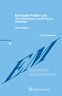 European Public Law: The Achievement and the Brexit Challenge, Third Edition by BIRKINSHAW