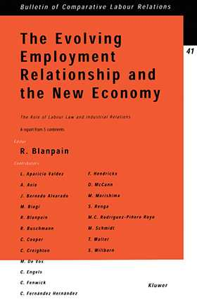 The Evolving Employment Relationship and the New Economy: The Role of Labour Law & Industrial Relations