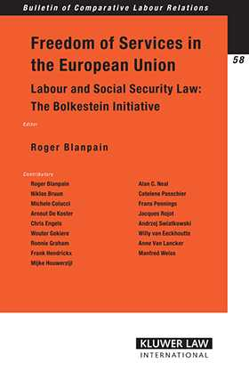 Freedom of Services in the European Union: Labour and Social Security Law by