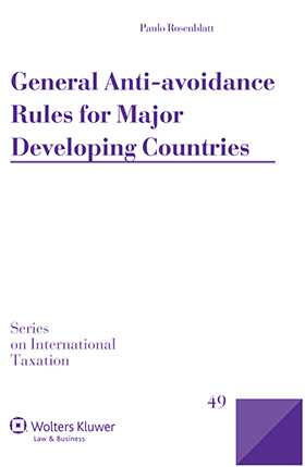 General Anti-Avoidance Rules for Major Developing Countries