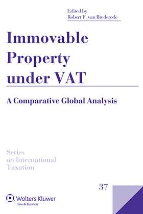 Immovable Property Under VAT. A Comparative Global Analysis