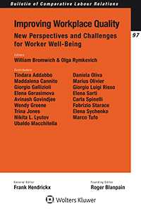 Improving Workplace Quality: New Perspectives and Challenges for Worker Well-Being