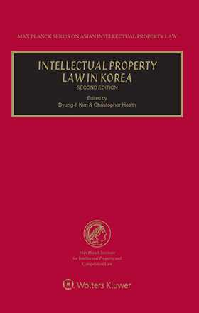 Intellectual Property Law in Korea. Second Edition