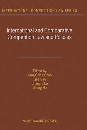 International and Comparative Competition Laws and Policies