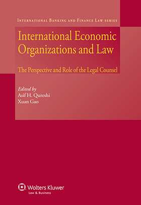International Economic Organizations and Law. The Perspective and Role of the Legal Counsel