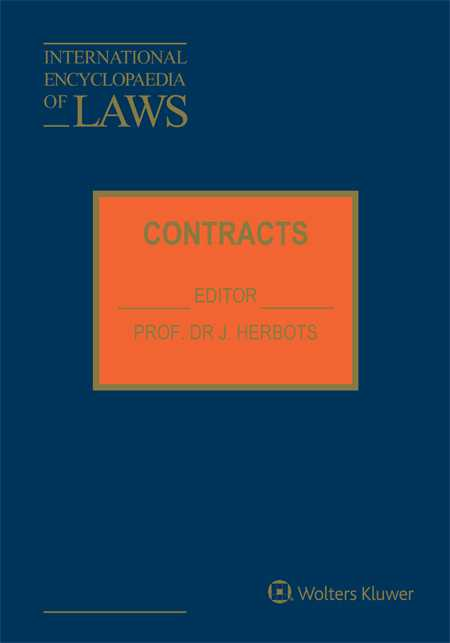International Encyclopaedia of Laws: Contracts