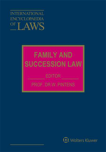 International Encyclopaedia of Laws: Family and Succession Law