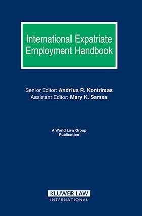 International Expatriate Employment Handbook by Andrius Kontrimas