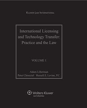International Licensing and Technology Transfer: Practice and the Law by