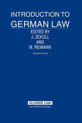 Introduction to German Law- 2nd Edition by Joachim Zekoll, Matthias Reimann