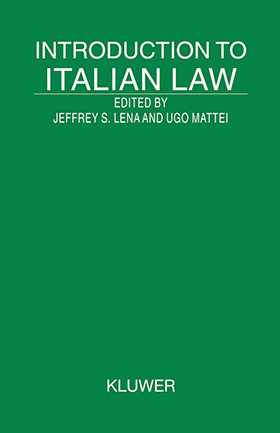 Introduction to Italian Law