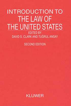 Introduction to the Law of the United States, Second Revised Edition