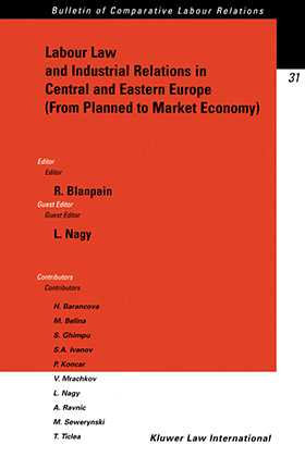 Labour Law and Industrial Relations in Central and Easten Europe