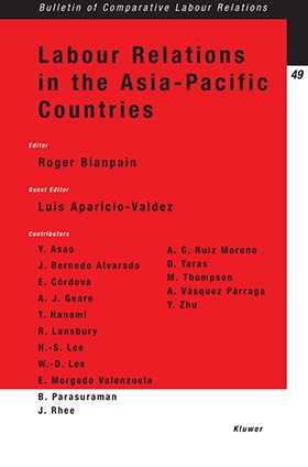 Labour Relations in the Asia-Pacific Countries by